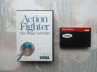 Jeu Master system Action Fighter + boite PAL retrogaming SEGA original*