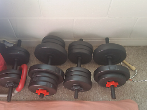Great condition Gym and fitness stuffs selling cheap St Marys Mitcham Area Preview