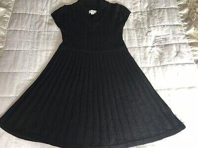 Womens Jessica Simpson Black Knitted Dress Size Medium