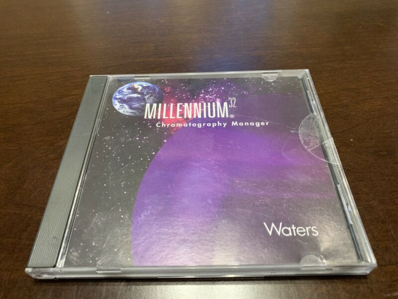 Waters Millennium 32 Chromatograph Manager Software: Workstation Ver. 3.05.01