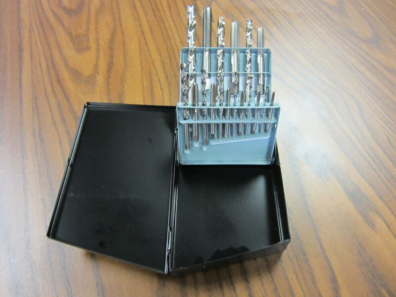 18pcs/set Tap and Drill set,9 of each, Metric Sizes,Part# 01-800-101 --new