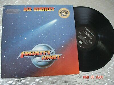 """ACE FREHLEY  """"Frehley's Comet"""" GOLD STAMP PROMO LP  Megaforce Worldwide  81749-1"""