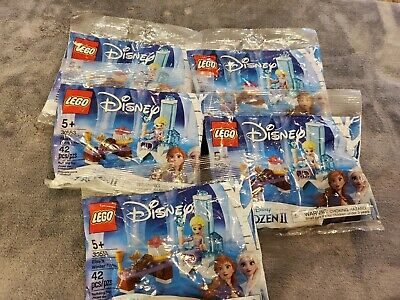 LEGO Disney's Frozen 2 Elsa's Winter Throne 30553 Lot of 5 Sealed Polybag Sets