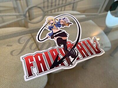 Fairy Tail - Anime - Lucy Heartfilia Sticker Vinyl Sign custom mage guild - Fairy Customes