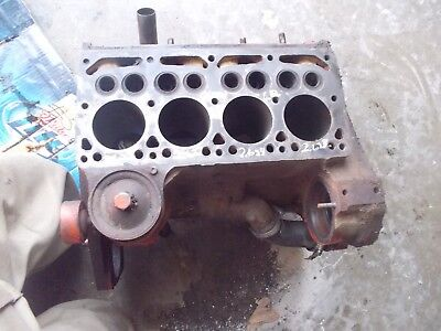 Farmall International Cub Or Low Boy Tractor Original Engine Motor Gas Block