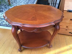 Antique Elegant Solid Maple table .Lovely antique table