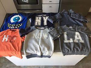12 morceaux vêtements garçon - grandeur 7 ans