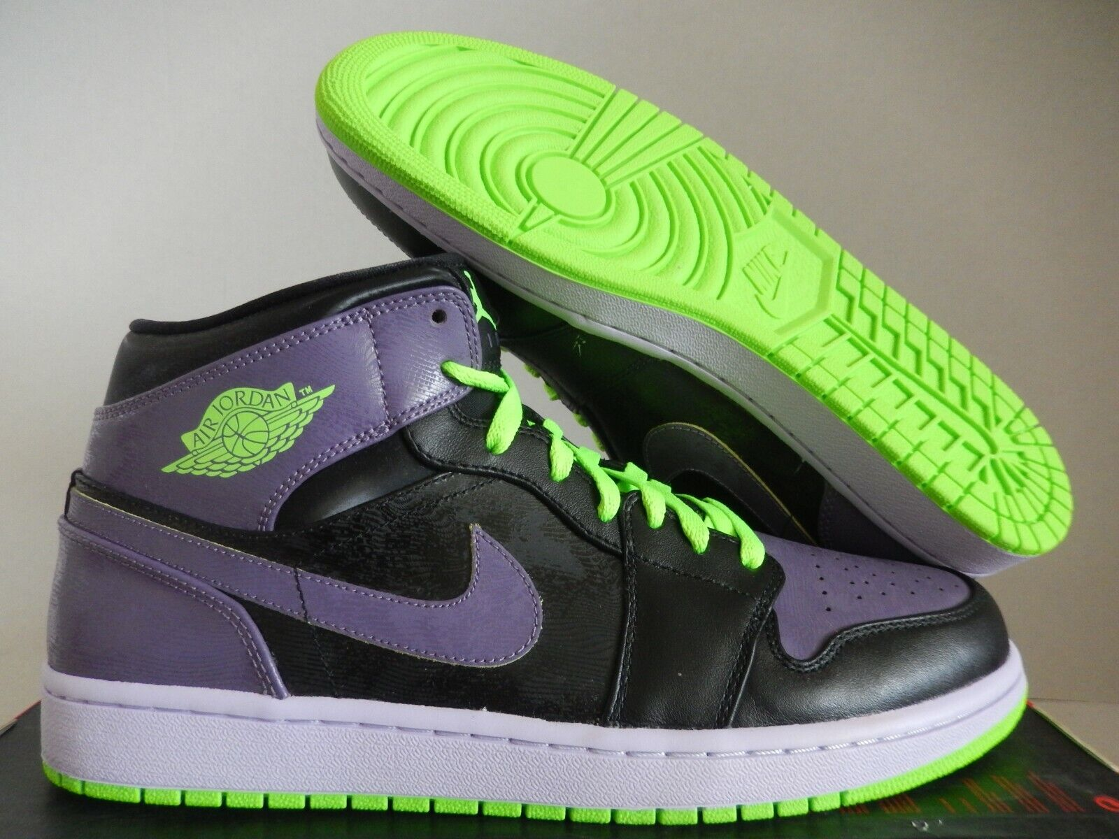 air jordan 1 black purple