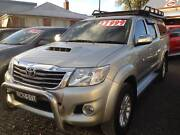 2013 TOYOTA HILUX SR5 DUAL CAB 4WD TURBO DIESEL Tamworth Tamworth City Preview