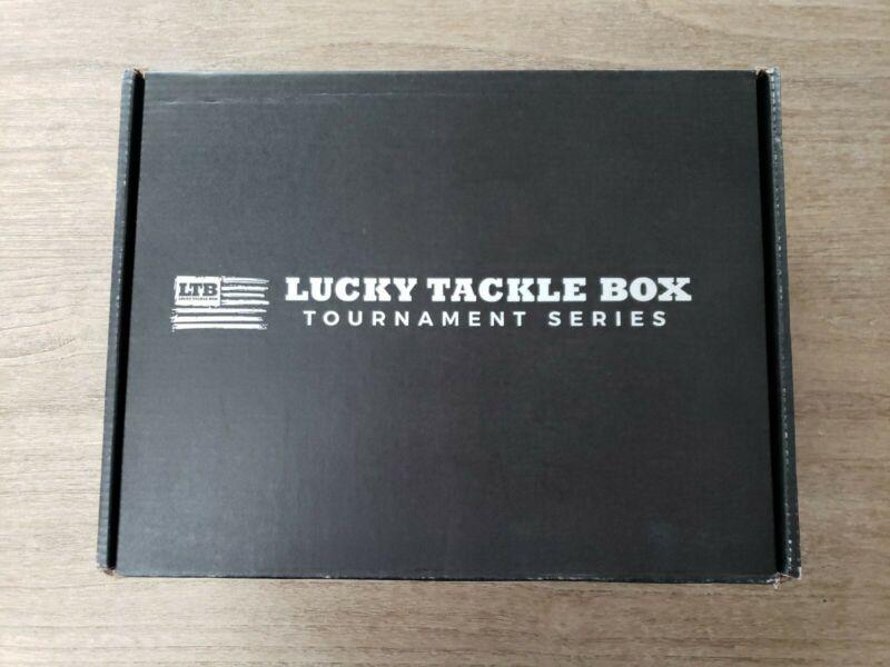 NIB Fishing Lucky Tackle Box Tournament Series Free Shipping 90.00 Value
