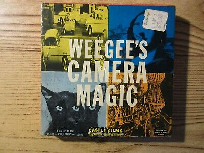Vintage Weegee's Camera Magic Film Reel Castle Films 1016, used for sale  Shipping to India