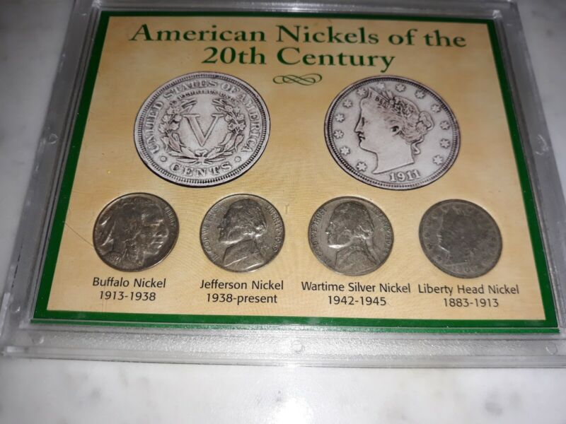 American Nickels of the 20th Ccentury coin set.