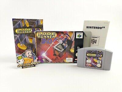 "Nintendo 64 Spiel "" Lode Runner 3-D "" N64 | OVP | PAL Version NOE LodeRunner 3D"