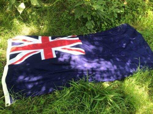 RARE large BRITISH GOVT ENSIGN wool/nylon fully-stitched---VINTAGE VEXILLOLOGY!!