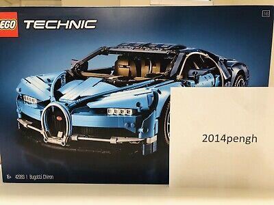 LEGO Technic Set BUGATTI CHIRON 42083 Brand New