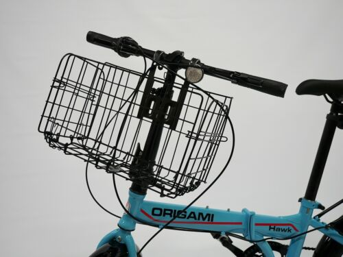 NEW Folding Bicycle Bike Basket Front Rear or Metal Wire Storage Carrier