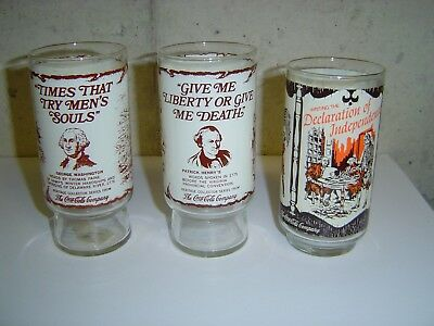 Heritage Collection Series Coca-Cola Historical Glasses