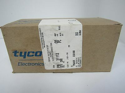 TYCO BUDGET RING ELECTRICAL CONNECTORS 31113 (BOX OF 500)