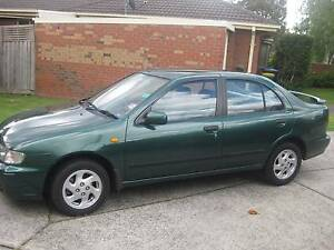 1999 Nissan Pulsar Sedan Wantirna Knox Area Preview