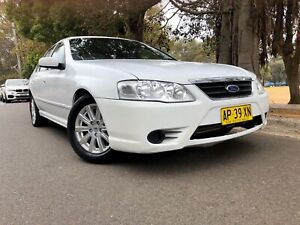 2007 Ford Fairmont BF MKII Automatic Seq SportShift Sedan Low Kms