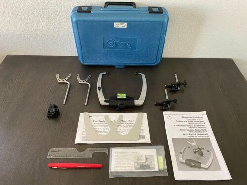 Denar Slidematic Facebow Complete Kit, 2 Jig Assemblies, Fox Plane, Transfer Jig