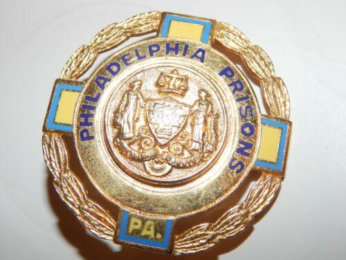 ANTIQUE PHILADELPHIA PRISONS PENNSYLVANIA  POLICE PA CORRECTIONS