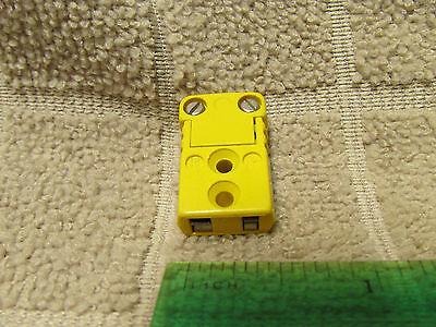 Marlin Mfg Usa Yellow K Thermocouple Connector Female Ex