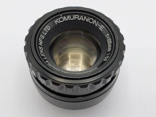 Komura Komuranon-E 105mm F5.6 Enlarging Enlarger Lens - M39 Thread