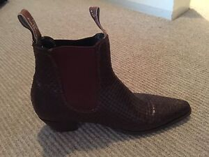 R.M Williams custom made ankle boot Bondi Eastern Suburbs Preview