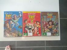 Toy Story 1,2 and 3 dvds Pimpama Gold Coast North Preview