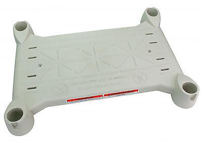 Innovaplas Products Grey Platform for Above Ground BiltMor Swimming Pool Step ()