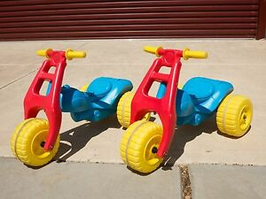 Two Young Ones ATV Ride On Kids Plastic Trike Hawthorn Mitcham Area Preview