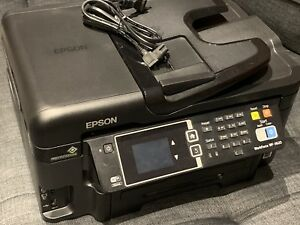 Epson Workforce WF-3620 wireless printer scanner fax copier