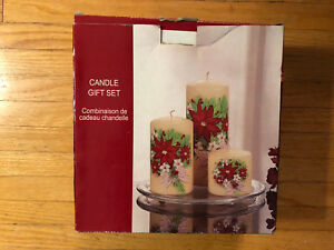 Candle Gift Set/Centrepiece