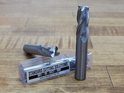 716 .4375 4 Fl Carbide End Mill - Scs -brand New 001-40-0437-000