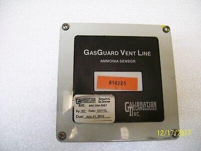 Gg-vl-nh3 Calibration Technologies Gas Guard Vent Line Ammonia Sensor