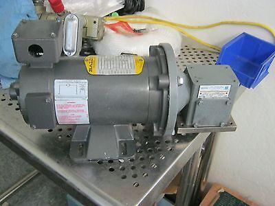 Baldor Cdp3310 Motor With Morse Fi10-10-56c-l Reducer. 10.1 Ratio .32hp