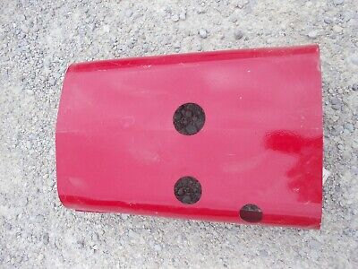 Farmall B Tractor Original Ih Ihc Engine 3 Hole Hood Cover With Mounting Clips