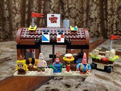 Lego Spongebob Squarepants 3833 Krusty Krab Adventures Complete No Instsruction