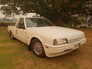 1985 XF Ford Falcon ute. No rego.