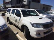 2014 Toyota Hilux SR dual cab 3.0L turbo diesel Garran Woden Valley Preview