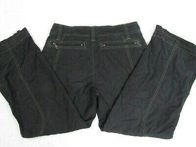 Athleta Hiking Pants Petite Womens Size 4P Zipped Pockets Nylon Blend Outdoors