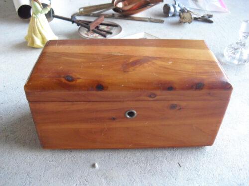 Vintage Lane Cedar Chest Salesman Sample Harberet Furniture Co Look