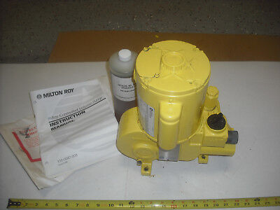 Milton Roy Pump Rh111514sesem2nn 2.8 Gph 100 Psi 2.0 Gph 1800 Psi