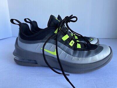 Nike Air Max Axis GS Black/Volt/Grey Youth Kids Shoes Sneakers AH5222-012 Size 3