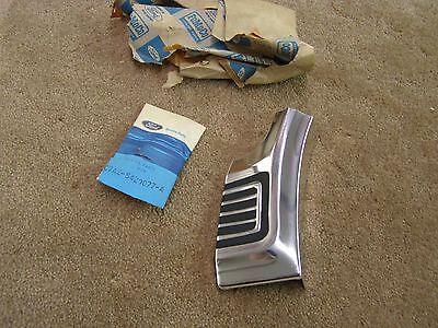 NOS OEM Ford 1967 Galaxie 500 Quarter Moulding Trim Wheel Lip Extension 54C 57F