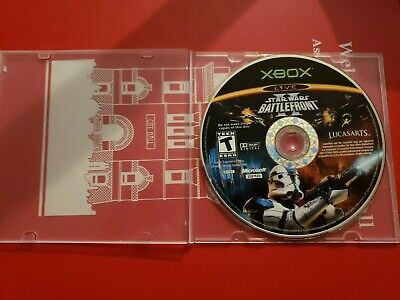 Star Wars: Battlefront II Original Xbox Video Game Disc Only