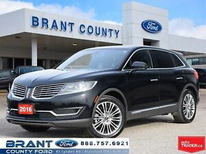 2016 Lincoln MKX Reserve - **MANAGER'S SPECIAL**