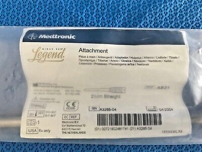 Medtronic Midas Rex As21 Straight 21cm Attachment 30 Day Warranty