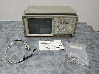 Hewlett Packard Hp 100mhz Digitizing Oscilloscope 54501a W Hp 10400a Probe